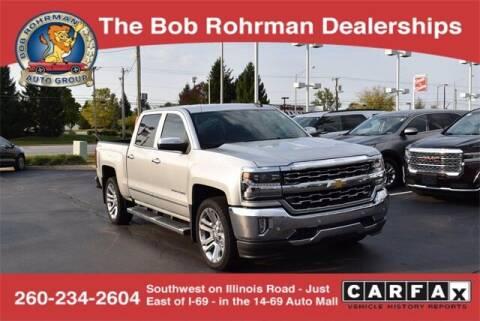 2016 Chevrolet Silverado 1500 for sale at BOB ROHRMAN FORT WAYNE TOYOTA in Fort Wayne IN