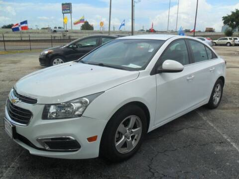 2016 Chevrolet Cruze Limited for sale at Talisman Motor City in Houston TX