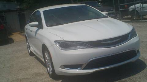 2015 Chrysler 200 for sale at Global Vehicles,Inc in Irving TX