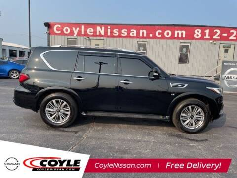 2018 Infiniti QX80 for sale at COYLE GM - COYLE NISSAN - Coyle Nissan in Clarksville IN