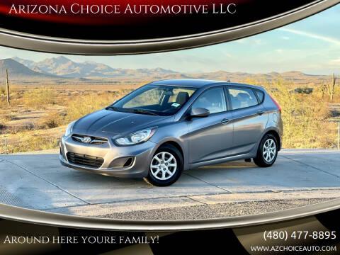 2014 Hyundai Accent for sale at Arizona Choice Automotive LLC in Mesa AZ