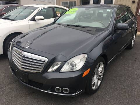 2011 Mercedes-Benz E-Class for sale at Dijie Auto Sale and Service Co. in Johnston RI