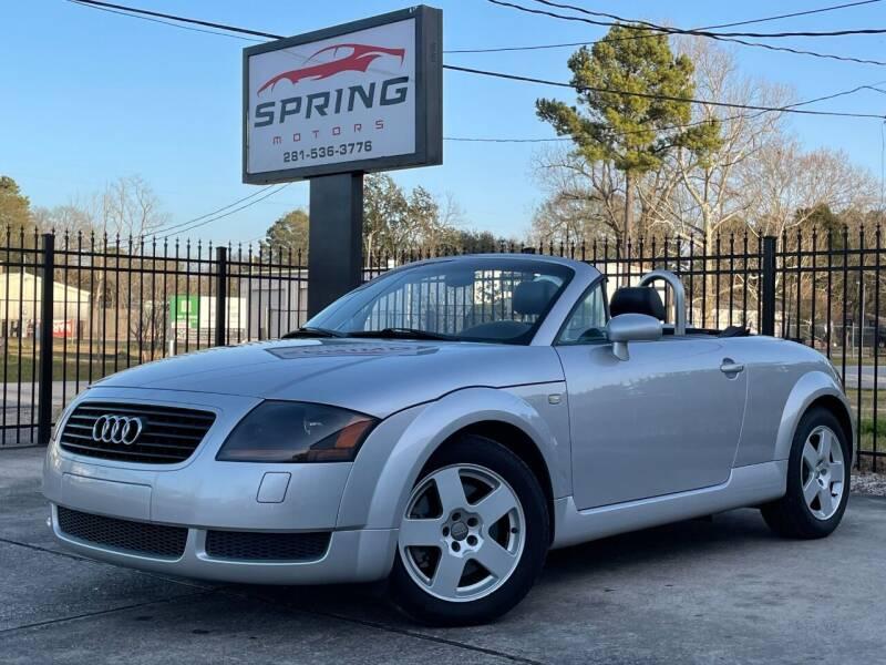 2001 Audi TT for sale at Spring Motors in Spring TX