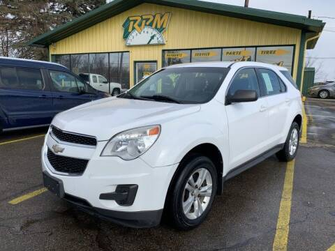 2010 Chevrolet Equinox for sale at RPM AUTO SALES in Lansing MI