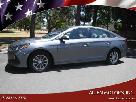 2018 Hyundai Sonata for sale at Allen Motors, Inc. in Thousand Oaks CA