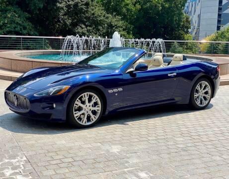 2013 Maserati GranTurismo for sale at Motor Co in Atlanta GA