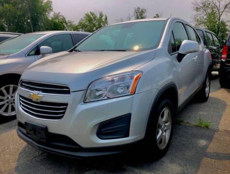 2016 Chevrolet Trax for sale at Top Line Import of Methuen in Methuen MA
