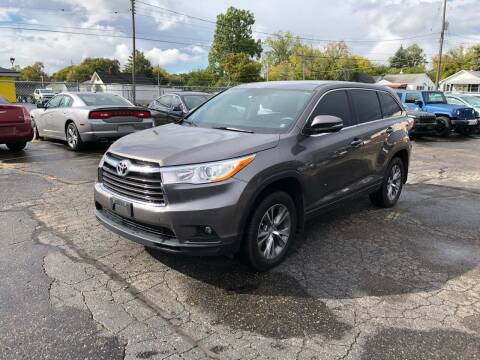2014 Toyota Highlander for sale at Dean's Auto Sales in Flint MI