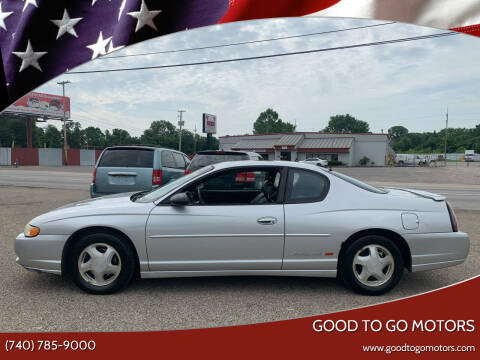 2002 Chevrolet Monte Carlo for sale at Good To Go Motors in Lancaster OH