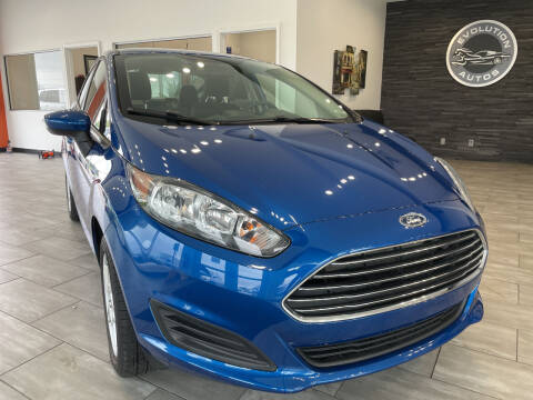 2018 Ford Fiesta for sale at Evolution Autos in Whiteland IN