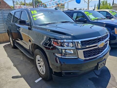 2016 Chevrolet Suburban for sale at Rey's Auto Sales in Stockton CA