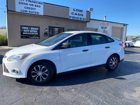 2012 Ford Focus for sale at Used Car Factory Sales & Service Troy in Troy OH