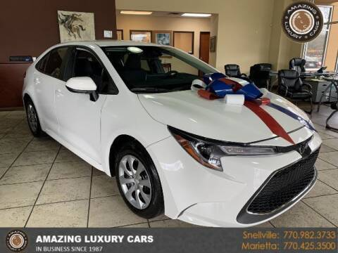 2020 Toyota Corolla for sale at Amazing Luxury Cars in Snellville GA