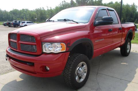 2004 Dodge Ram Pickup 2500 for sale at LOT OF DEALS, LLC in Oconto Falls WI