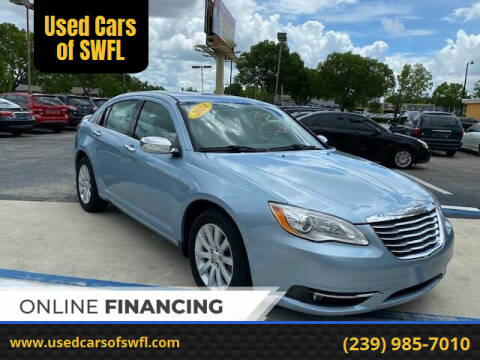 2014 Chrysler 200 for sale at Used Cars of SWFL in Fort Myers FL