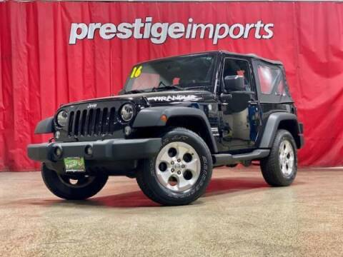2016 Jeep Wrangler for sale at Prestige Imports in St Charles IL