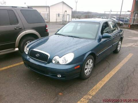 2004 Hyundai Sonata for sale at Kansas Car Finder in Valley Falls KS