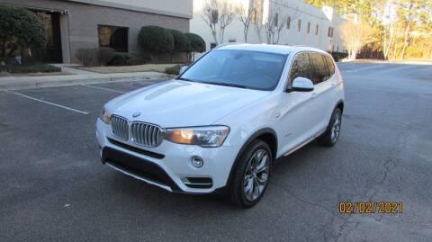 2015 BMW X3 for sale at German Auto World LLC in Alpharetta GA