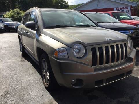 2008 Jeep Compass for sale at GMG AUTO SALES in Scranton PA