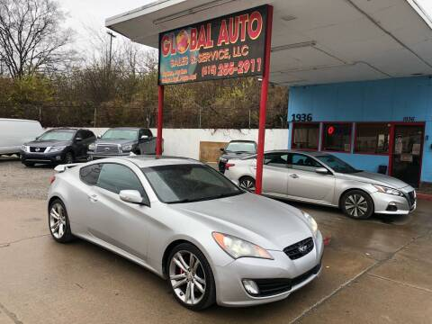 2010 Hyundai Genesis Coupe for sale at Global Auto Sales and Service in Nashville TN