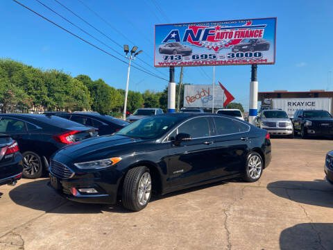 2017 Ford Fusion Hybrid for sale at ANF AUTO FINANCE in Houston TX