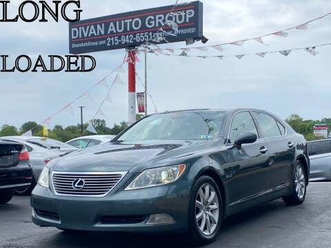 2007 Lexus LS 460 for sale at Divan Auto Group in Feasterville PA