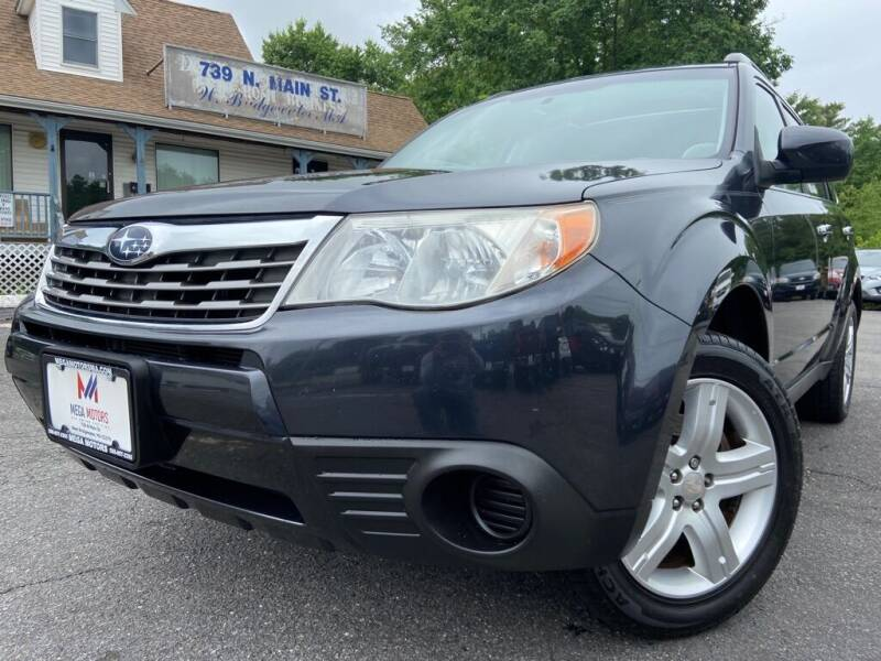 2010 Subaru Forester for sale at Mega Motors in West Bridgewater MA