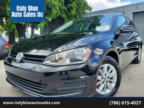 2015 Volkswagen Golf for sale at Italy Blue Auto Sales llc in Miami FL