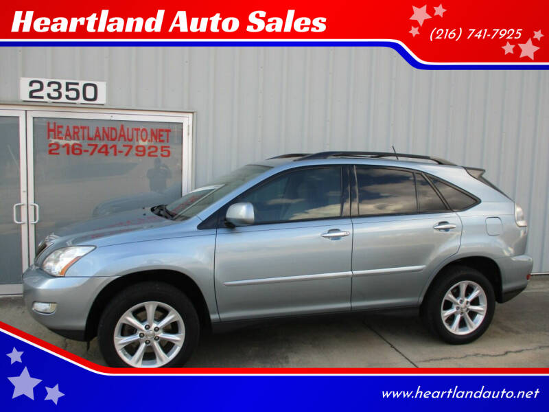 2009 Lexus RX 350 for sale at Heartland Auto Sales in Medina OH