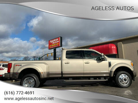2018 Ford F-450 Super Duty for sale at Ageless Autos in Zeeland MI