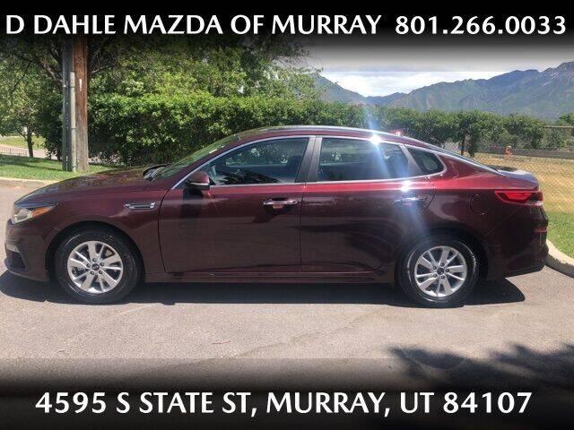 2019 Kia Optima for sale at D DAHLE MAZDA OF MURRAY in Salt Lake City UT