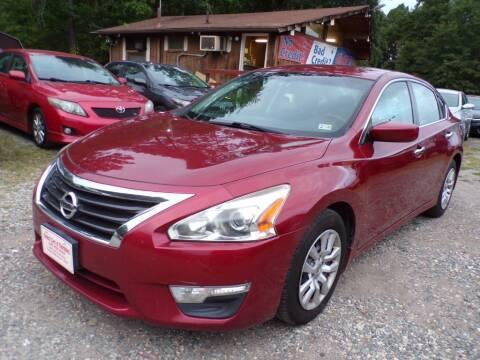 2015 Nissan Altima for sale at Select Cars Of Thornburg in Fredericksburg VA