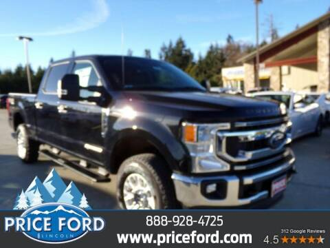 2021 Ford F-250 Super Duty for sale at Price Ford Lincoln in Port Angeles WA