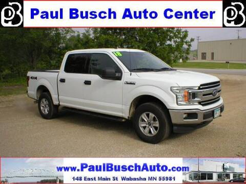 2018 Ford F-150 for sale at Paul Busch Auto Center Inc in Wabasha MN