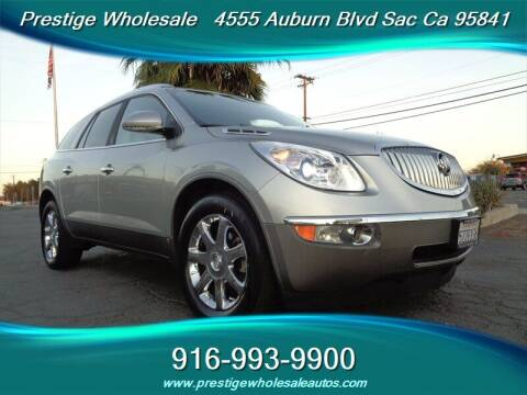 2008 Buick Enclave for sale at Prestige Wholesale in Sacramento CA