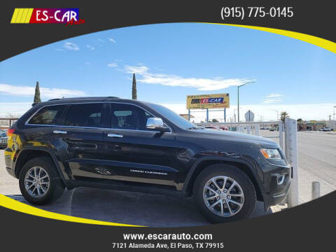 2015 Jeep Grand Cherokee for sale at Escar Auto in El Paso TX