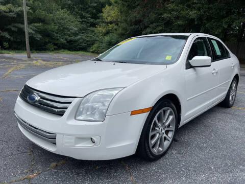 2009 Ford Fusion for sale at Peach Auto Sales in Smyrna GA