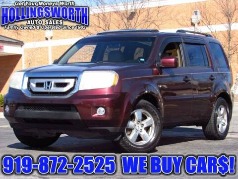 2010 Honda Pilot for sale at Hollingsworth Auto Sales in Raleigh NC