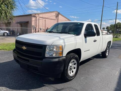 2010 Chevrolet Silverado 1500 for sale at Top Garage Commercial LLC in Ocoee FL