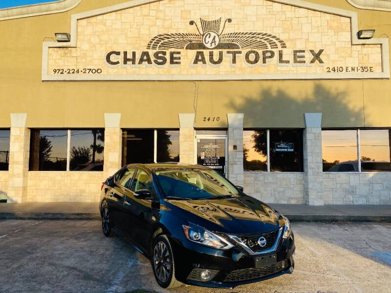 2019 Nissan Sentra for sale at CHASE AUTOPLEX in Lancaster TX