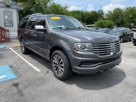 2015 Lincoln Navigator L for sale at Auto Solution in San Antonio TX
