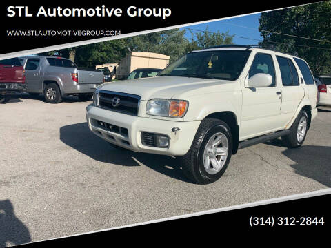 2003 Nissan Pathfinder for sale at STL Automotive Group in O'Fallon MO