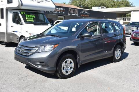 2014 Honda CR-V for sale at DeWitt Motor Sales in Sarasota FL