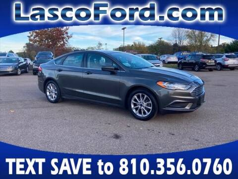 2017 Ford Fusion for sale at Lasco of Grand Blanc in Grand Blanc MI