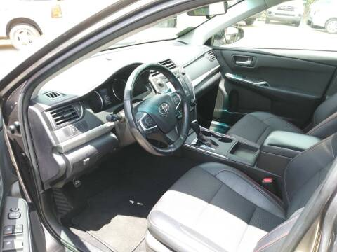 2016 Toyota Camry for sale at Dulux Auto Sales Inc & Car Rental in Hollywood FL