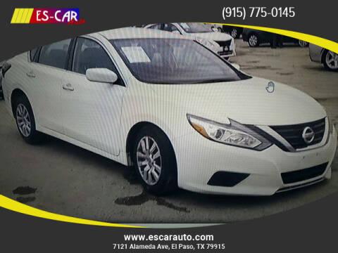 2018 Nissan Altima for sale at Escar Auto in El Paso TX