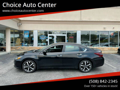 2018 Nissan Altima for sale at Choice Auto Center in Shrewsbury MA