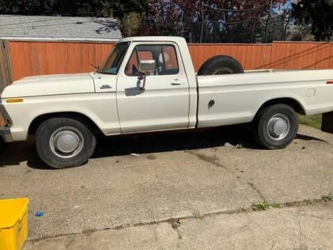 1978 Ford F-250 for sale at Classic Car Deals in Cadillac MI