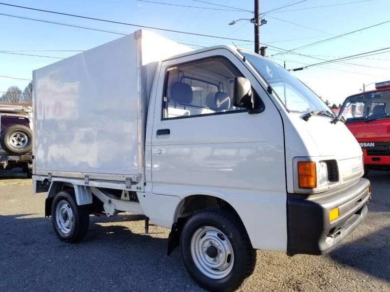 1993 Daihatsu Hijet Thermo Dry Van for sale at JDM Car & Motorcycle LLC in Seattle WA