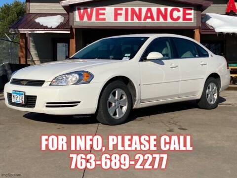 2006 Chevrolet Impala for sale at Affordable Auto Sales in Cambridge MN